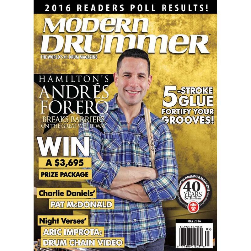 Andres Forero Modern Drummer Cover