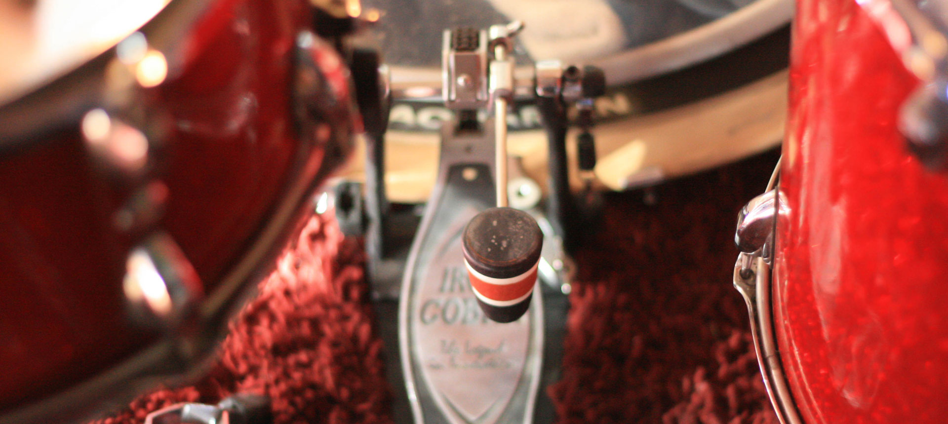 Wood Bass Drum Beater with Custom Drums