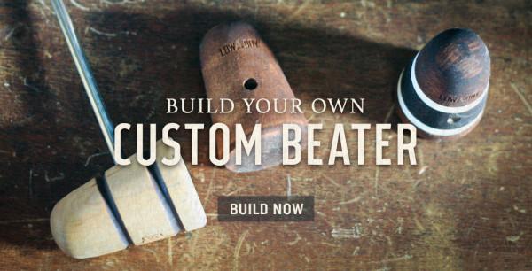 Custom Bass Drum Beater Builder