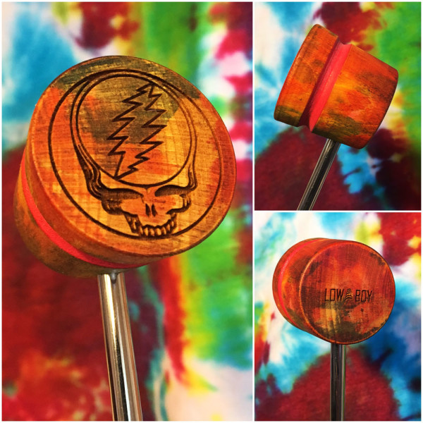 Steal Your Face Bass Drum Beater - Dark Star