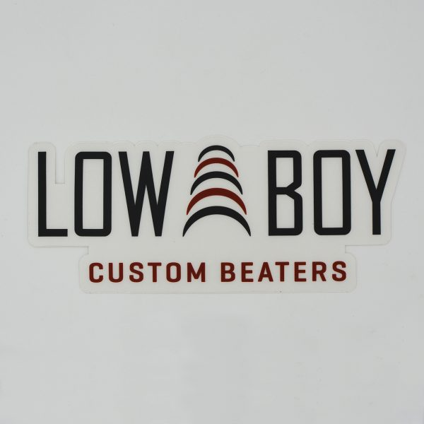 Low Boy Color Bass Drum Decal