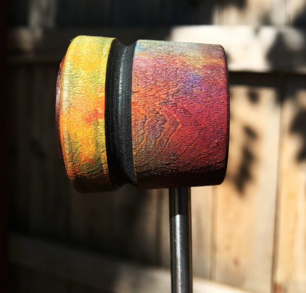 Devotion Wood and Leather Bass Drum Beater