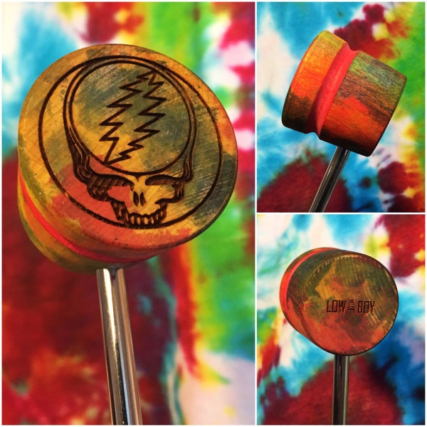 Steal Your Face Bass Drum Beater - Foolish Heart