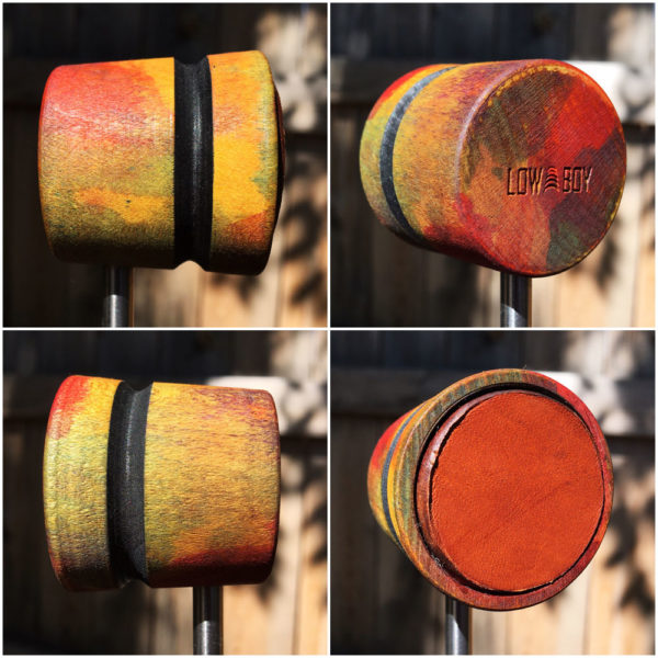 Garden Wood and Leather Bass Drum Beater
