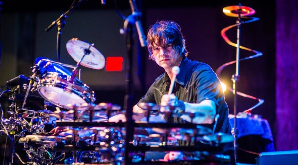 Glenn Kotche Playing Drums