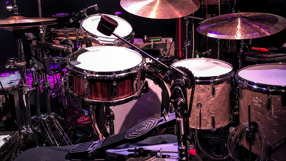 Glenn Kotche Drum Set with Beater