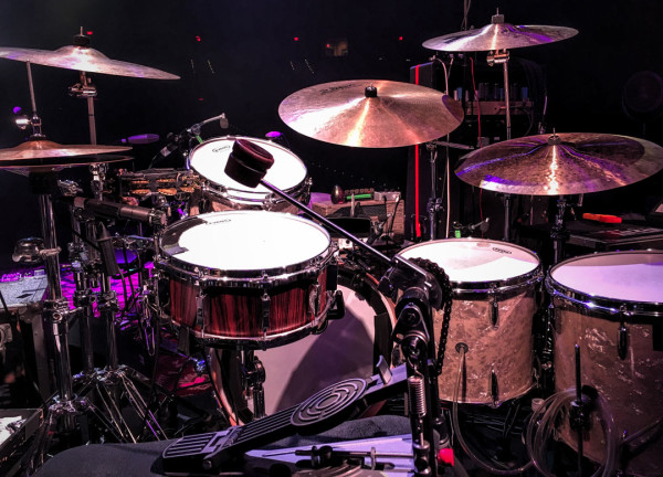 Glenn Kotche Drum Set