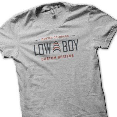 Low Boy Beaters Tee Shirt – Gray
