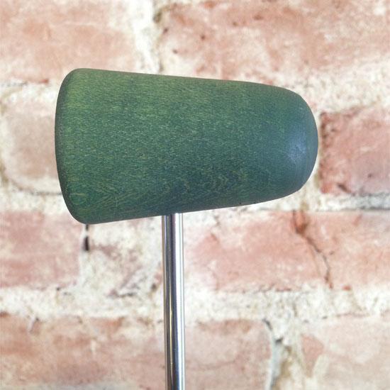 Green Wood Bass Drum Beater