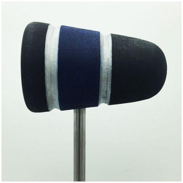 Black/Blue/Black w/Silver Sparkle Stripes