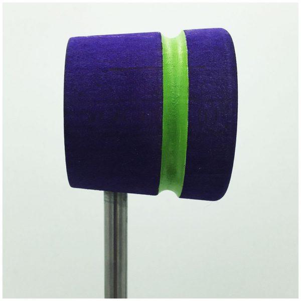 Purple w/Lime Green Stripe