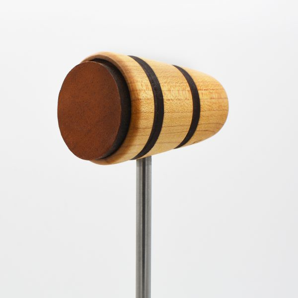 Leather Daddy, Natural with Brown Stripes