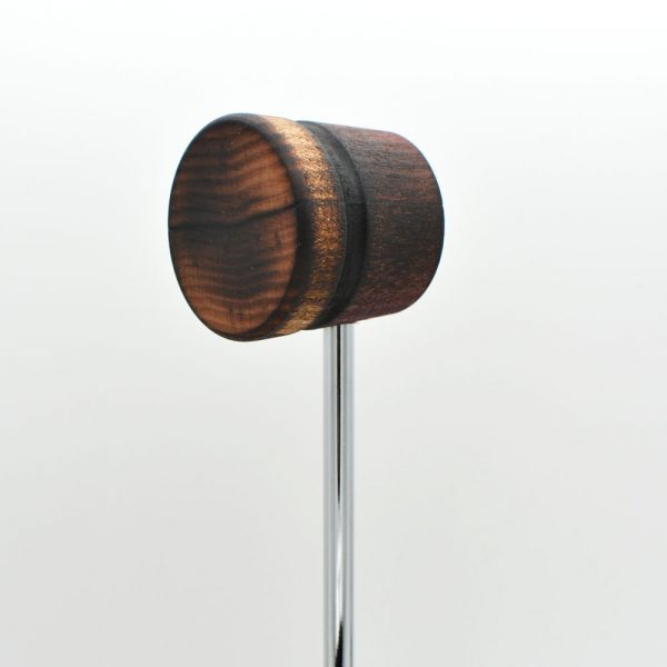 Lightweight, Scorched Red Mahogany/Natural with Black Stripe