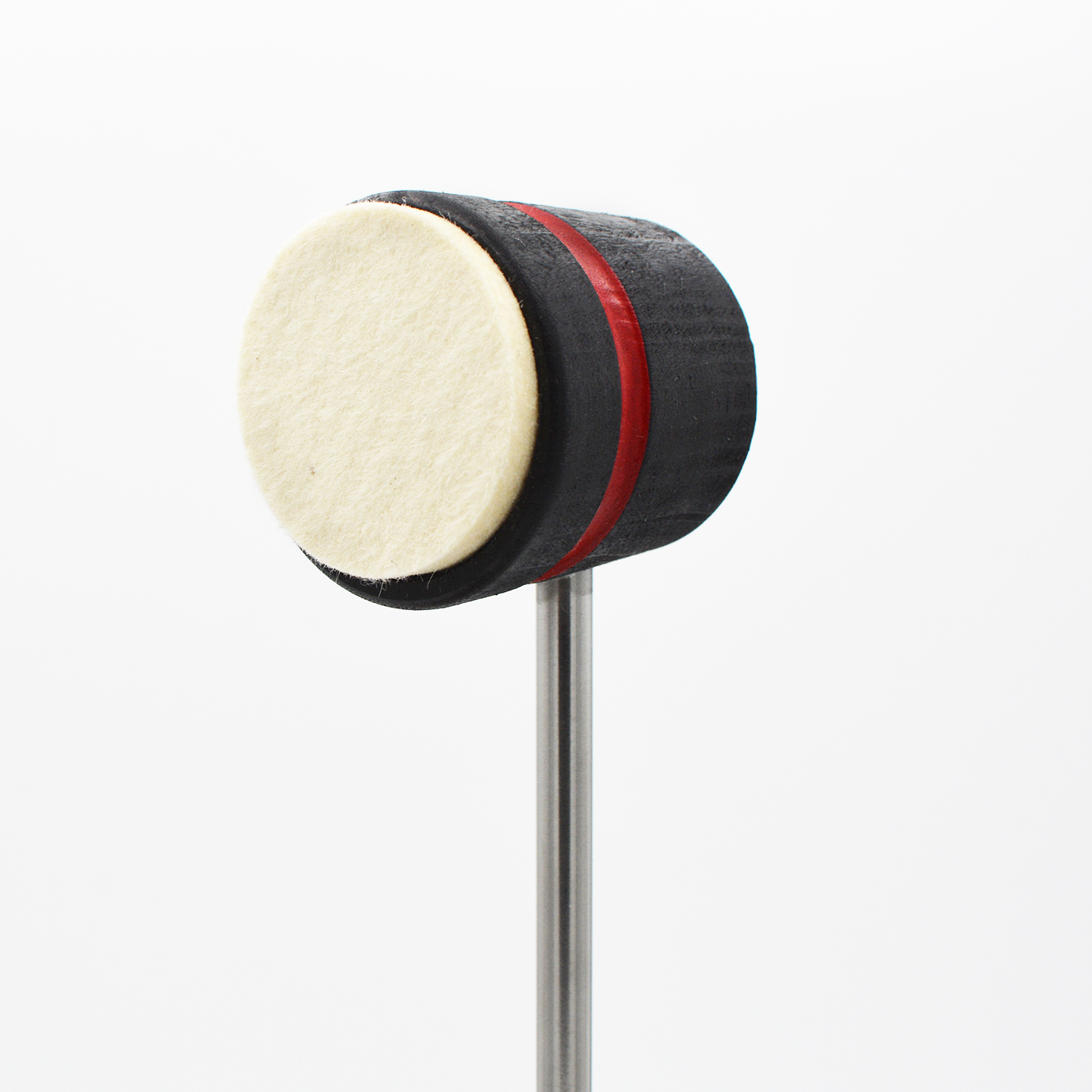 Lightweight Felt Daddy, Black with Red Stripe