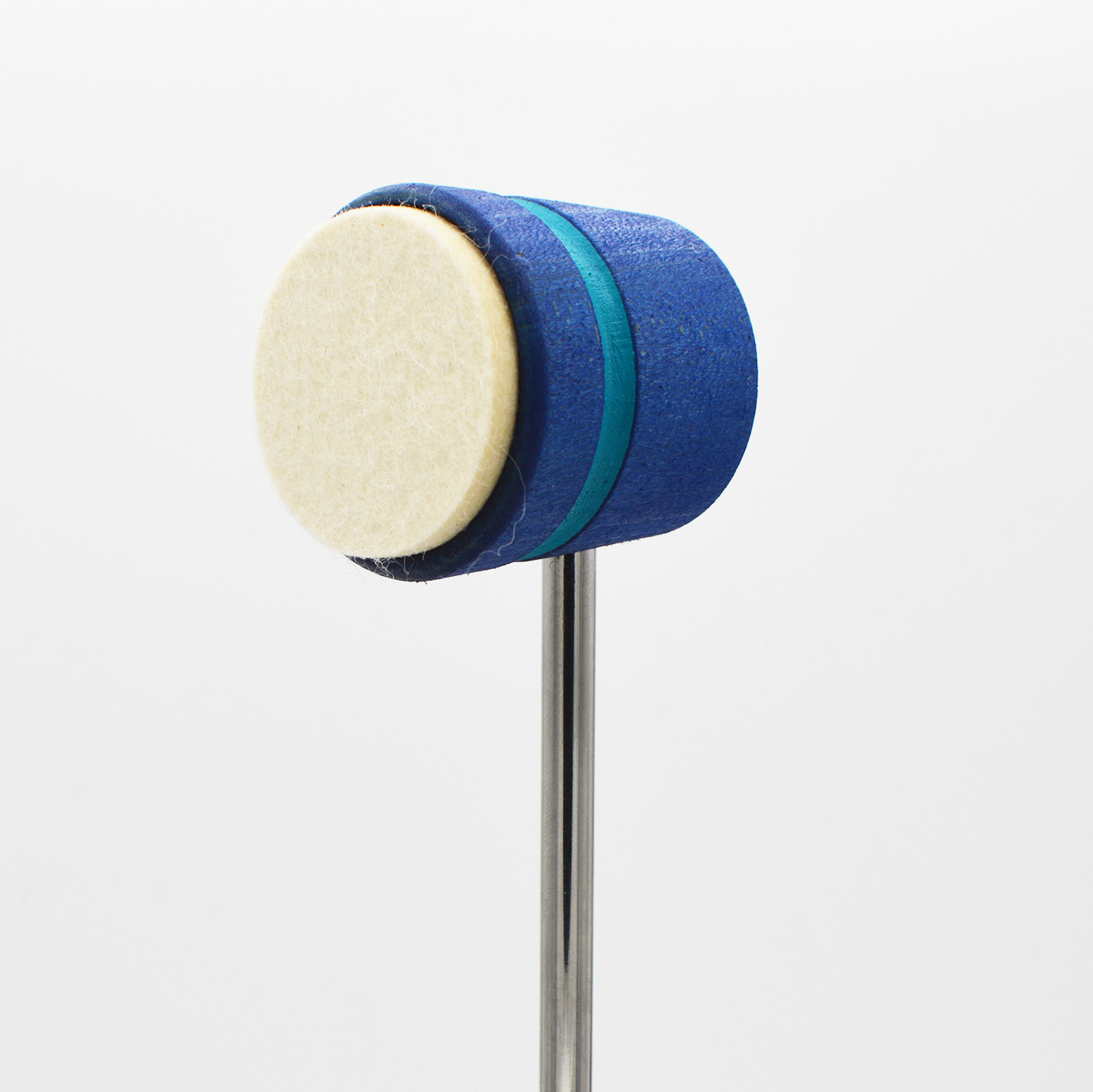 Lightweight Felt Daddy, Blue with Seafoam Stripe