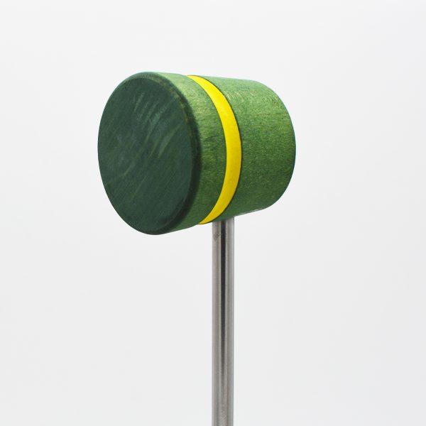 Lightweight, Green with Yellow Stripe