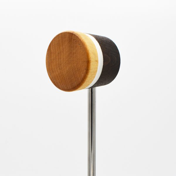 Lightweight, Medium Brown/Natural with White Stripe