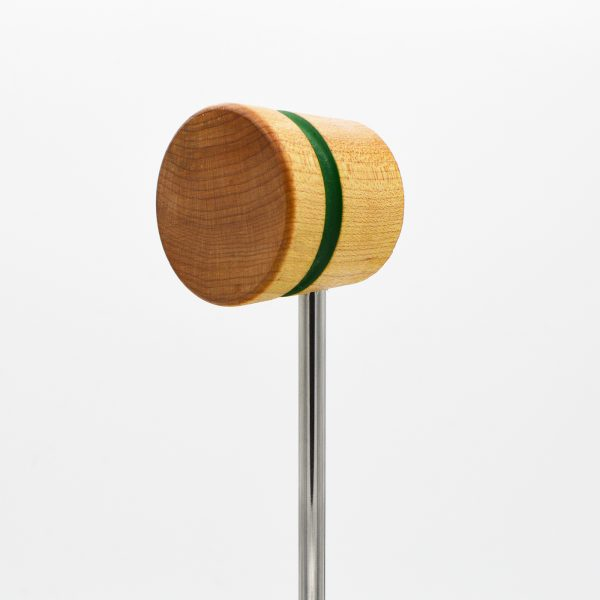 Lightweight, Natural with Green Stripe