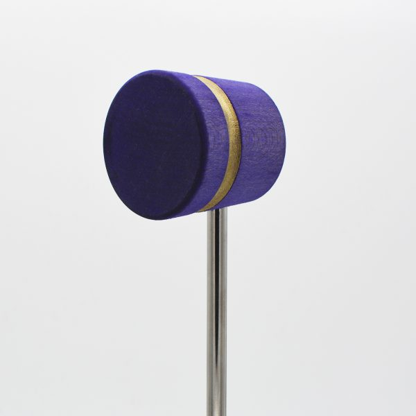 Lightweight, Purple with Gold Sparkle Stripe