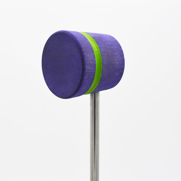Lightweight, Purple with Lime Green Stripe