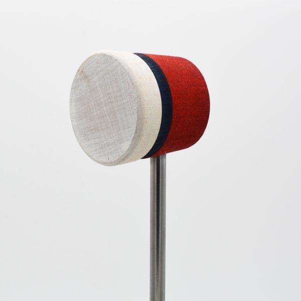 Lightweight, Red/White with Black Stripe