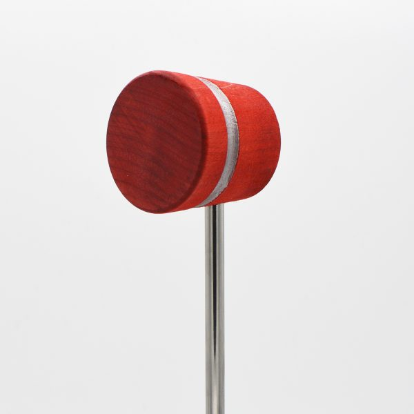 Lightweight, Red with Silver Sparkle Stripe