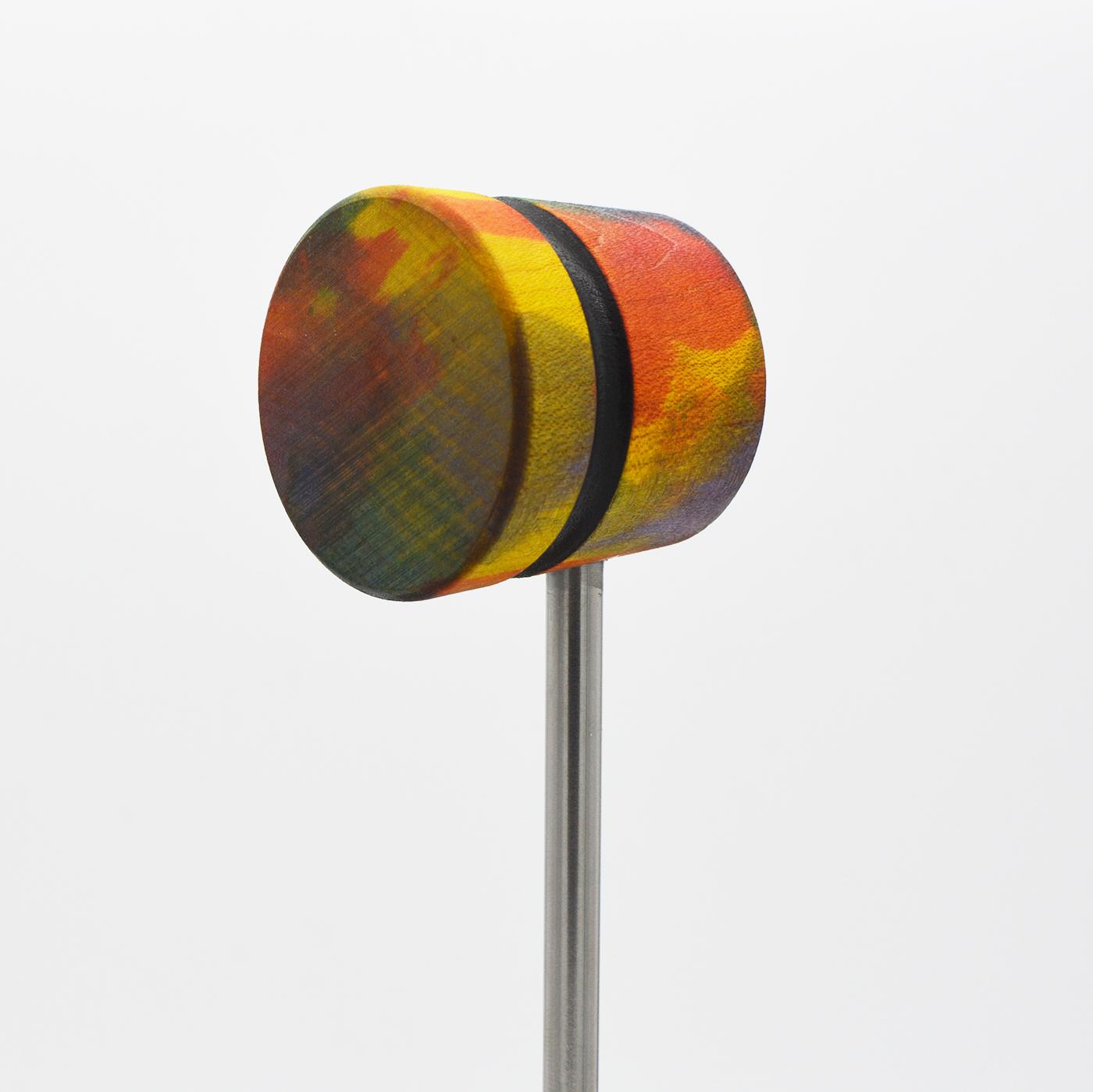 Lightweight, Tie Dye with Black Stripe