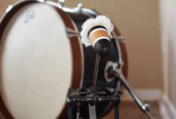 Lambswool Bass Drum Beater