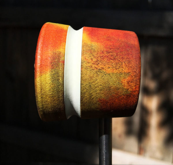 Lather Wood and Leather Bass Drum Beater