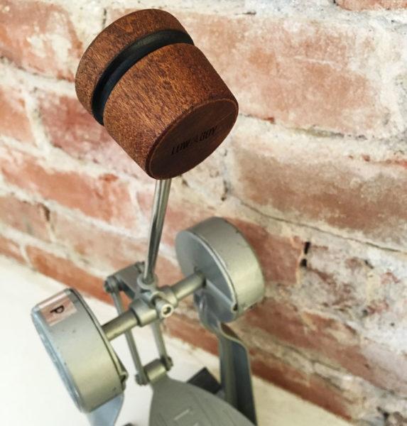 Brown Lightweight Wood Bass Drum Beater