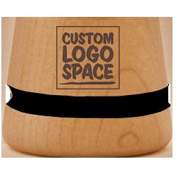 Laser Engraved Logo +$30