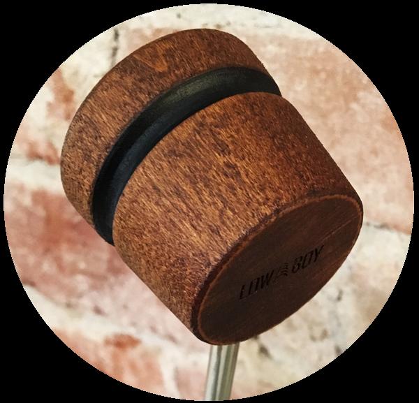 Lightweight Wood Bass Drum Beaer - Single Color