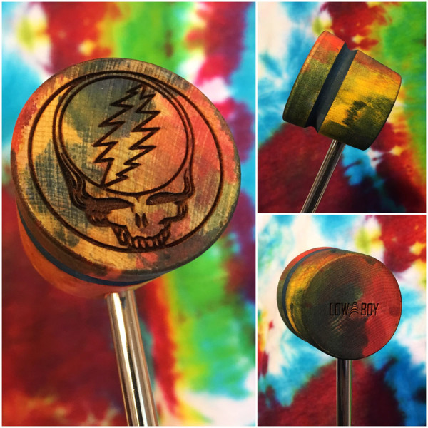 Steal Your Face Bass Drum Beater - Lost Sailor