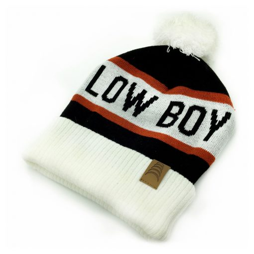 Low Boy Pom Beanie