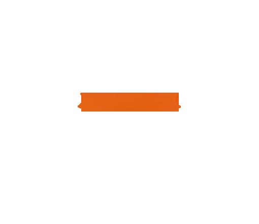 Orange Top Stripe