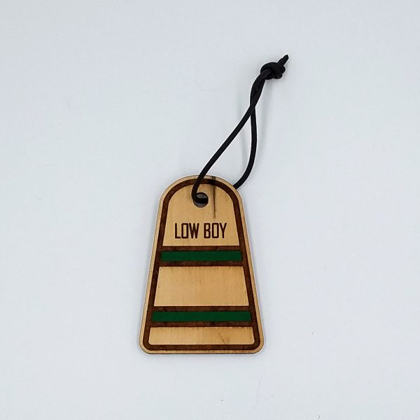 Holiday Ornament - Green Stripes
