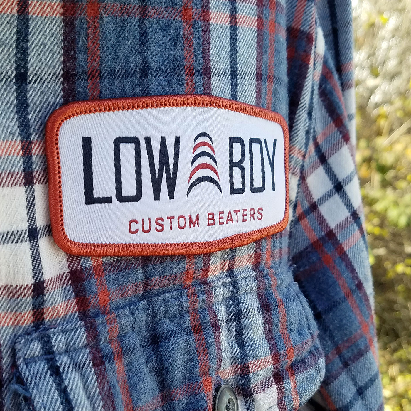 Low Boy Woven Patch