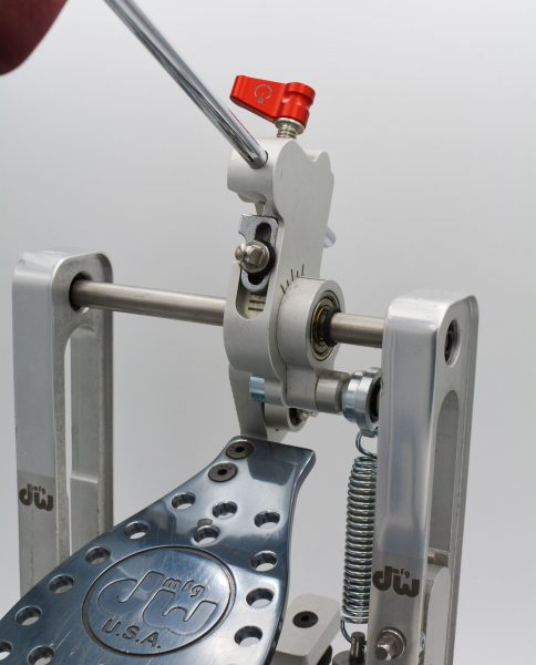 Power Switch on DW Direct Drive Bass Drum Pedal