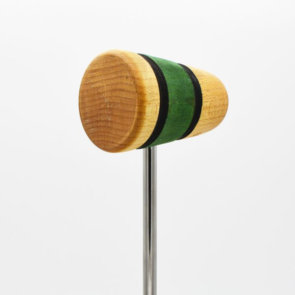 Standard, Natural/Green/Natural with Black Stripes
