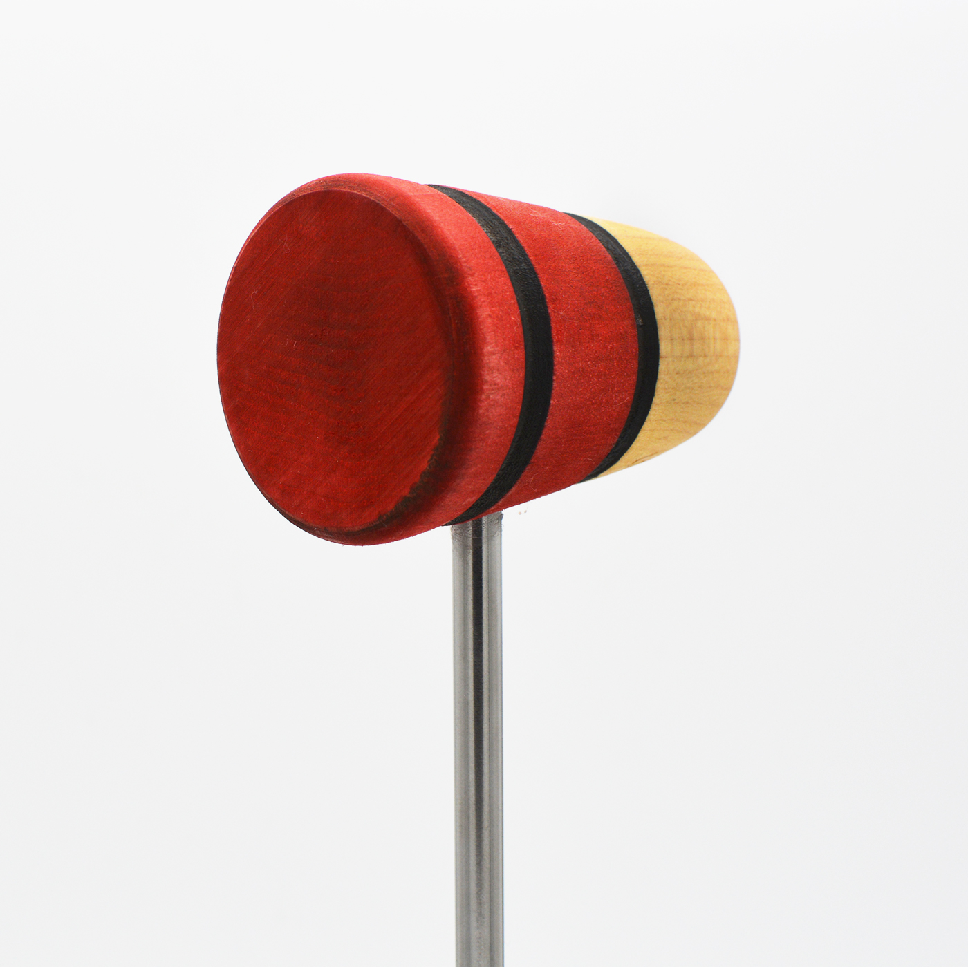Standard, Natural/Red/Red with Black Stripes