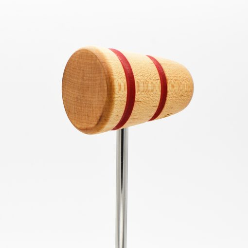 Standard, Natural with Red Stripes