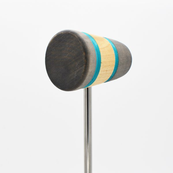 Standard, Silver/Natural/Silver with Seafoam Stripes