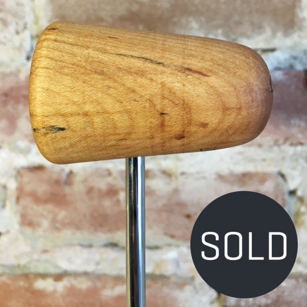 Spalted Maple Bass Drum Beater #1 - Sold