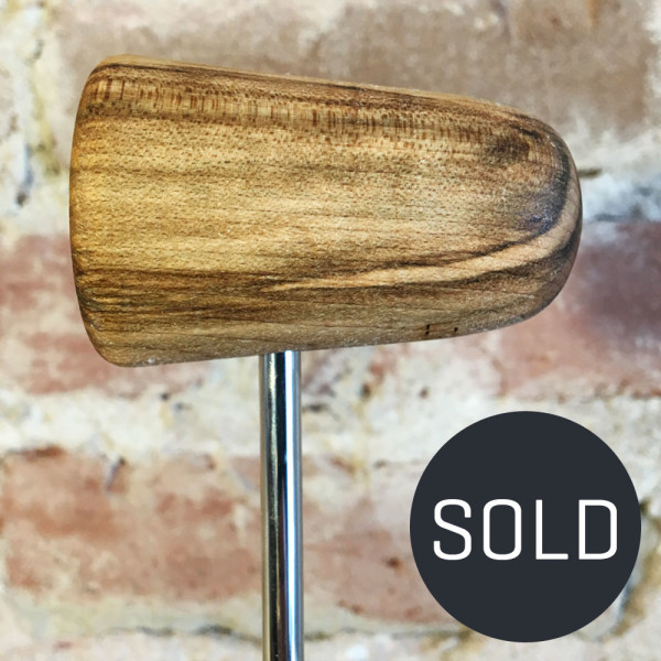 Spalted Maple Bass Drum Beater #2 - Sold