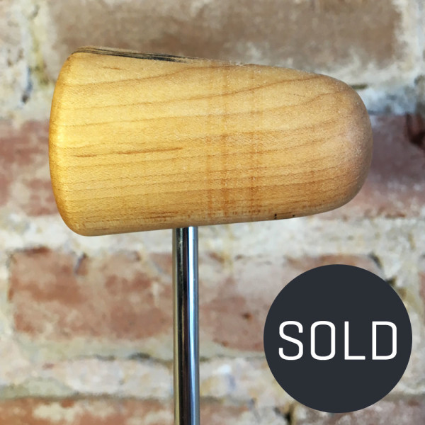 Spalted Maple Bass Drum Beater #3 - Sold