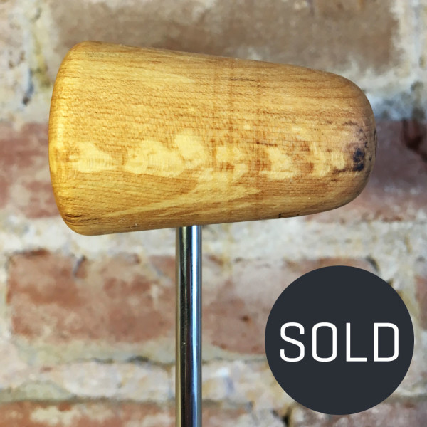 Spalted Maple Bass Drum Beater #5 - Sold