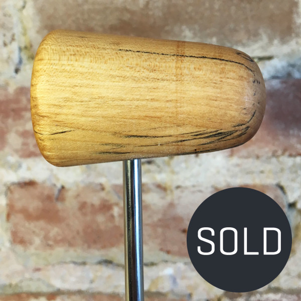 Spalted Maple Bass Drum Beater #6 - Sold