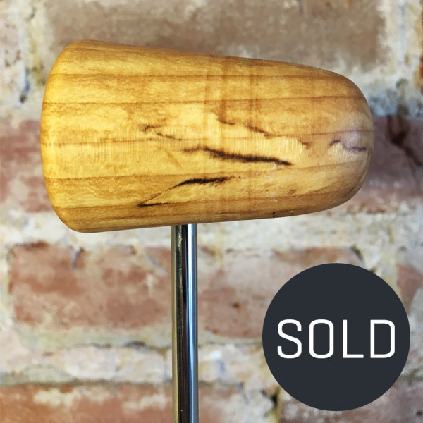 Spalted Maple Bass Drum Beater #7 - Sold