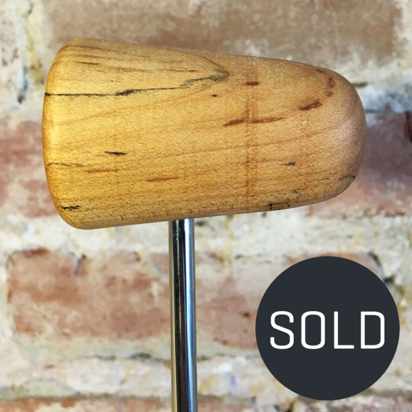 Spalted Maple Bass Drum Beater #9 - Sold