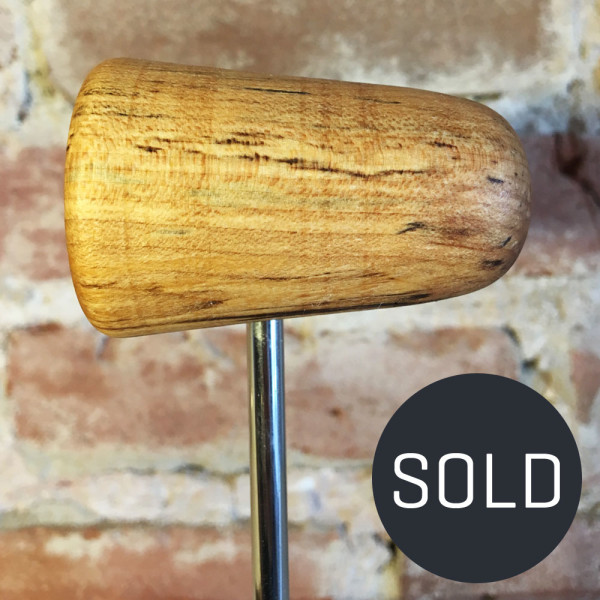 Spalted Maple Bass Drum Beater #10 - Sold